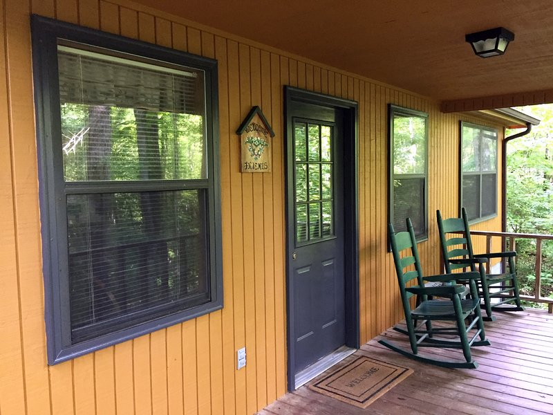 Private Covered Porch