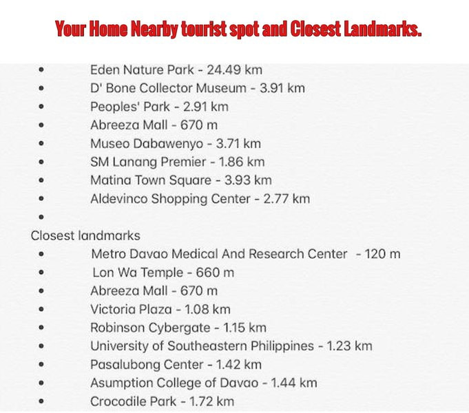 Alcuni punti turistici vicini e punti di riferimento più vicini