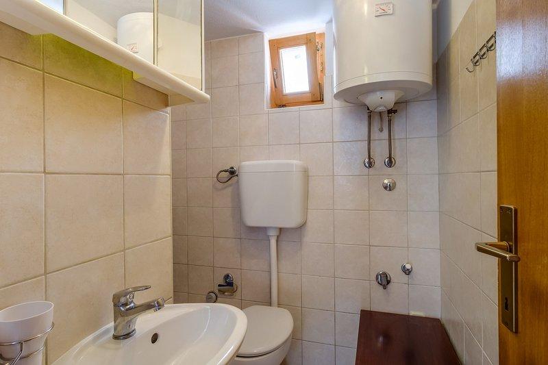 A3(3): bathroom with toilet