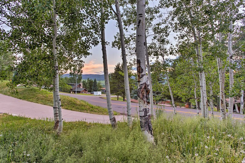 You can't beat this Steamboat Springs home base!