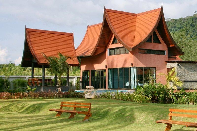 Tha Lane Bay Villa; Villa Chaba Sea Front, holiday rental in Krabi Town