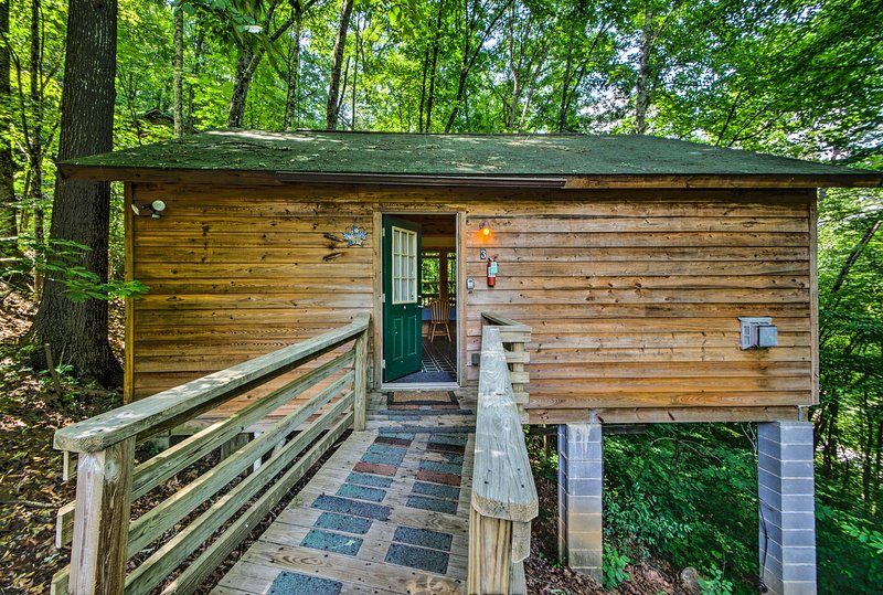 Bag the best vacation rental - the 'Gone Hunting' cabin!
