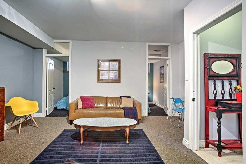 ¡Cuatro viajeros adorarán este apartamento de alquiler de vacaciones en North York!