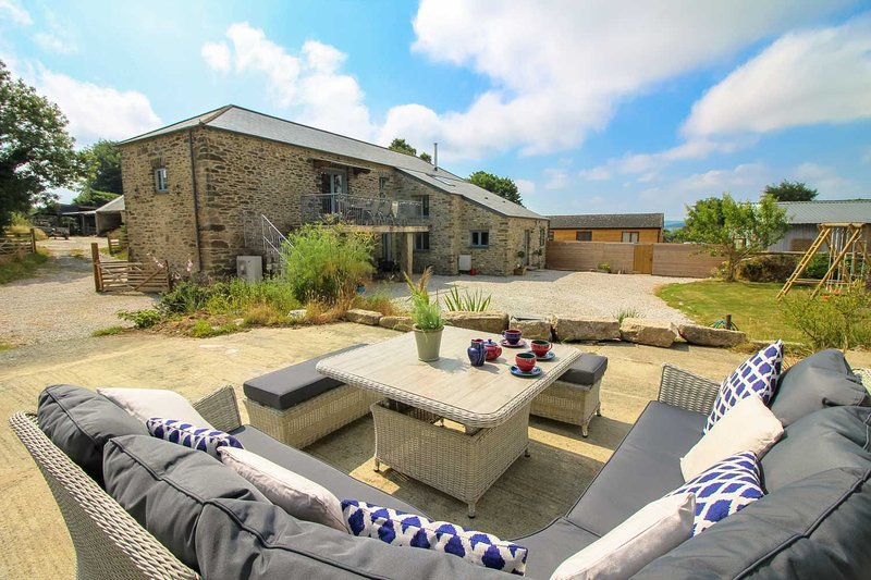 Lanxton Barn, holiday rental in Altarnun
