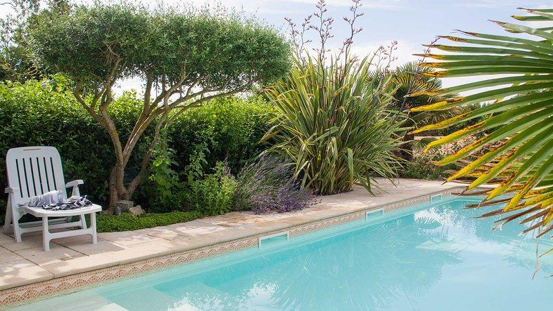 12m heated fenced pool
