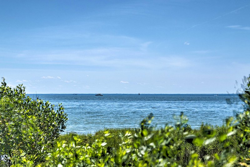 You won't be able to get enough of these stunning views of the Chesapeake Bay!