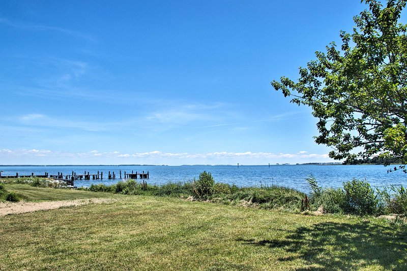 With stunning Chesapeake Bay views, the property is perfect for events.