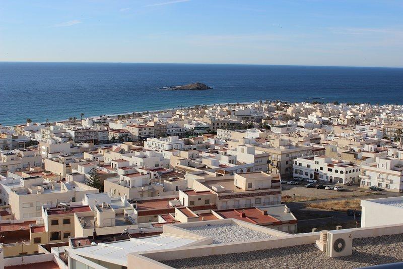 Carboneras ATICO espectaculares vistas al mar, holiday rental in Carboneras