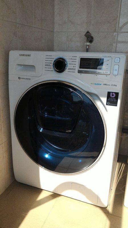 Nuova lavatrice Samsung da 12 kg