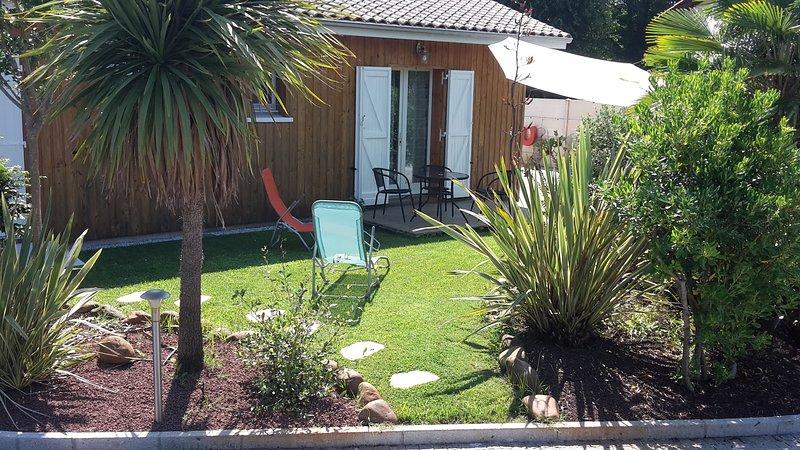L'Etape du bassin. - Chambre d'hôtes 'Marine'., holiday rental in Lege-Cap-Ferret
