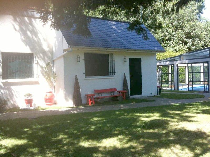 Beautiful house with garden & Wifi, holiday rental in L'Isle-Adam
