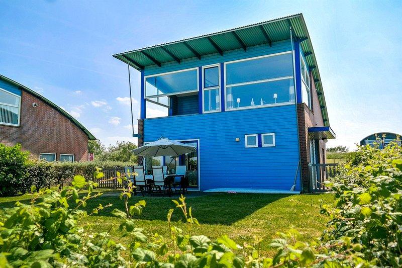 Luxus Hafenhaus 'Nirvana' mit Sauna direkt am Lauwersmeer, casa vacanza a Provincia di Groninga
