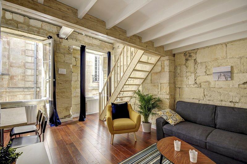 COSY DABADIE, Charmant appartement dans le centre, location de vacances à Villenave D'ornon