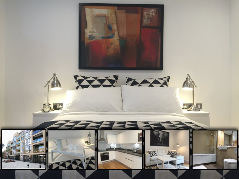 Luxury Secure Apartment in Greenwich - London, holiday rental in Bromley