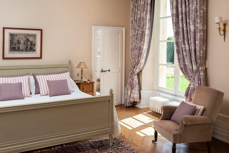 A lovely bedroom awaits...