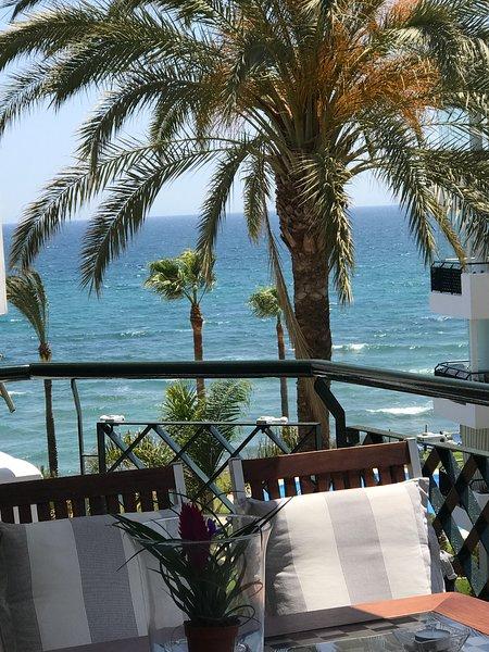terrazza con vista sul mare
