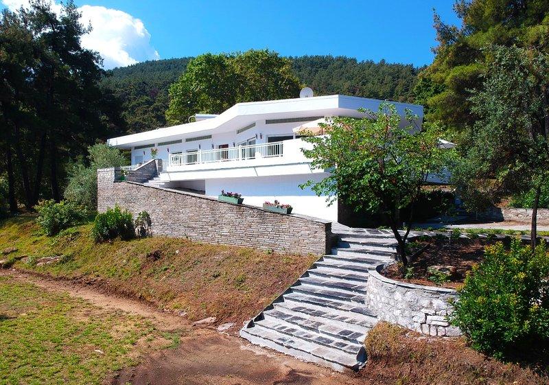 Villa Peluna, location de vacances à Skala Panagia