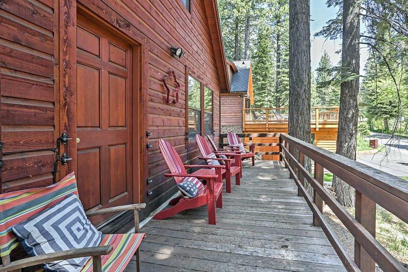 Book your Tahoe City getaway to this 4-bedroom, 2-bath vacation rental cabin!
