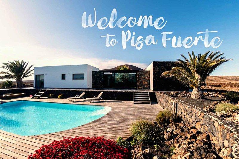 Pisa Fuerte: Villa a los pies del volcán de Lajares, holiday rental in Lajares