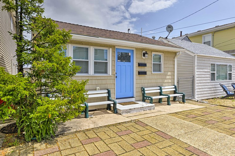 Call Seaside Heights home while staying in this 2-bed, 1-bath home!