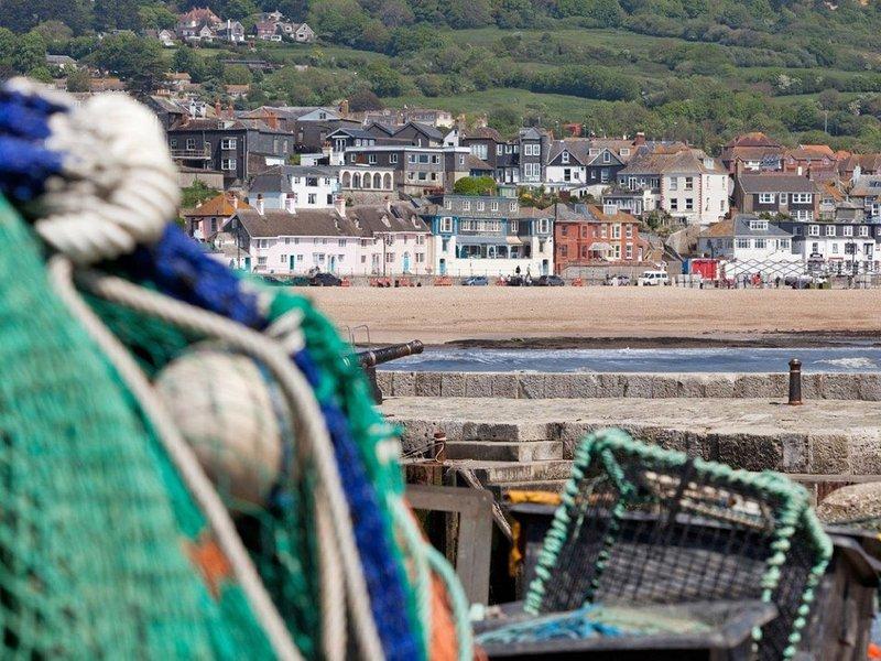 La ville balnéaire de Lyme Regis
