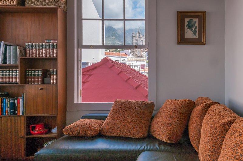 Salon chambre 2 étage avec canapé-lit pour deux personnes