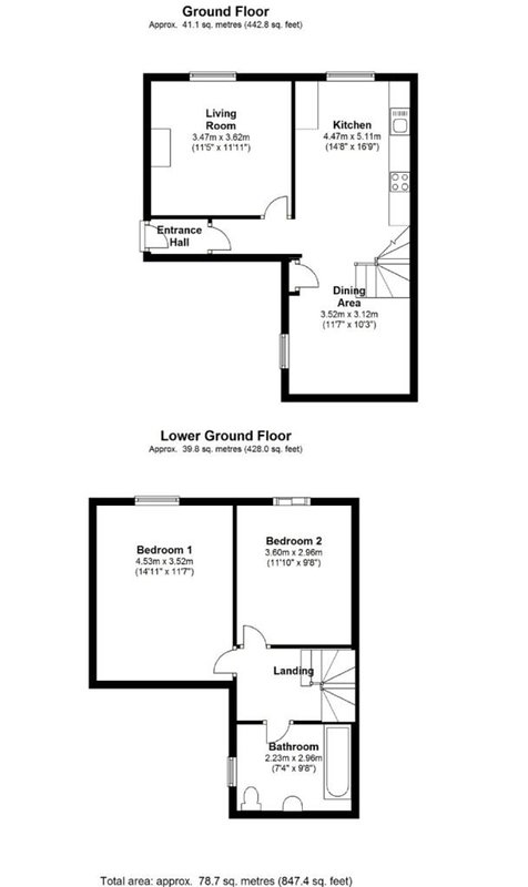 Sovereign Holiday Apartment - Floor Plan