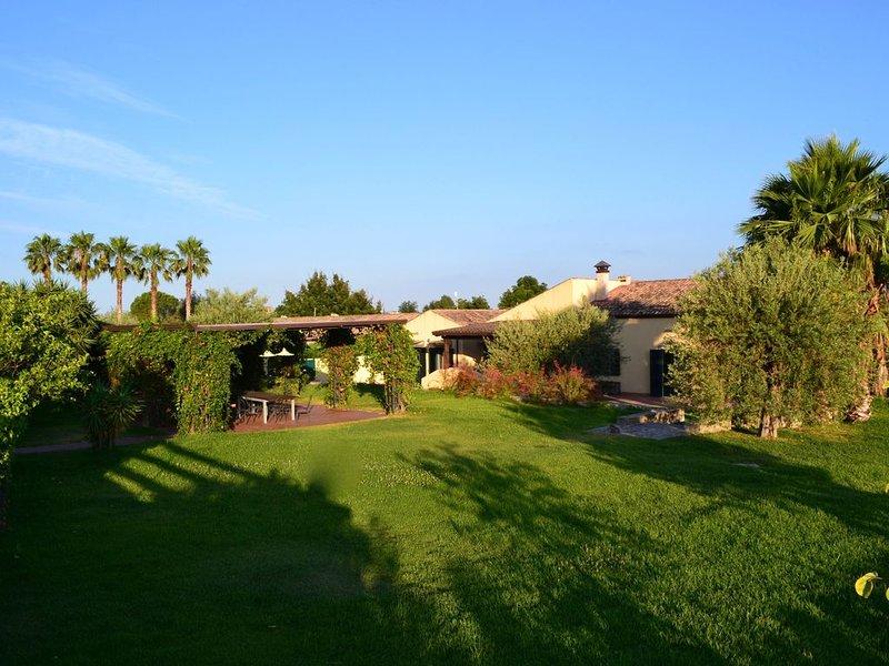 la villa e il gazebo esclusivo