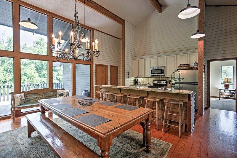 Elevate your NOLA getaway at this Convington vacation rental home!