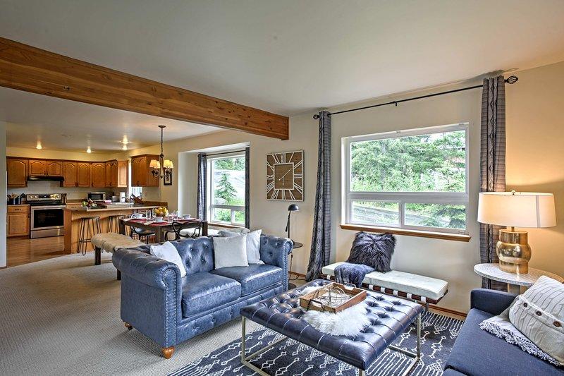 Con letti per 2, questa casa accogliente è perfetta per famiglie numerose.