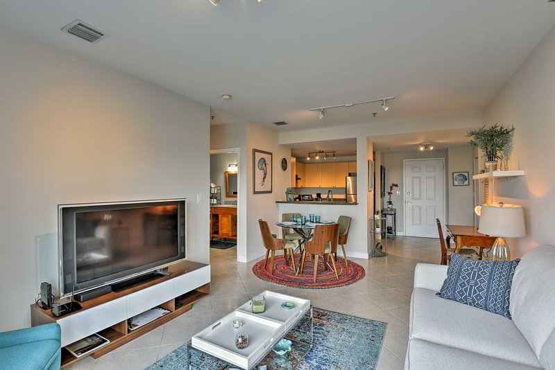 Plan an exciting getaway to Miami and stay at this vacation rental condo!