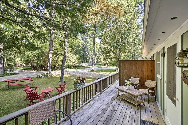 Le coppie possono soggiornare in questo cottage monolocale appena ristrutturato.