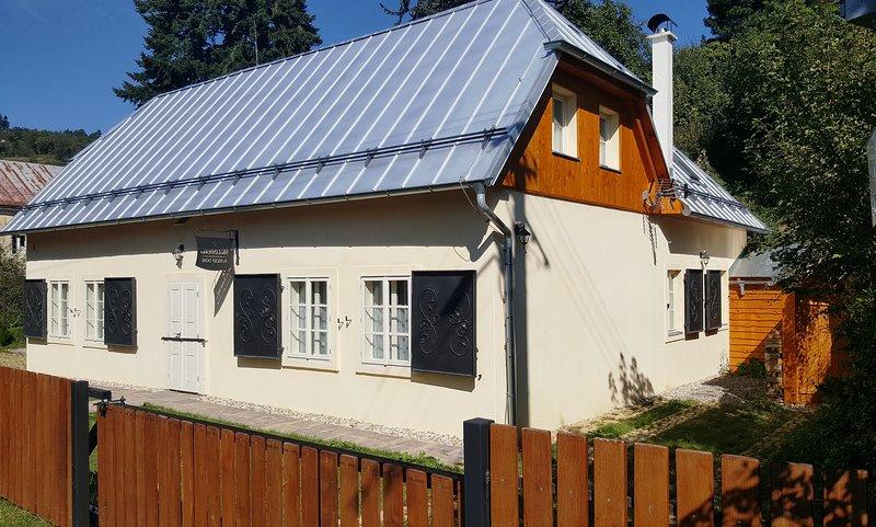 Cottage Siglisberg, vacation rental in Banska Stiavnica