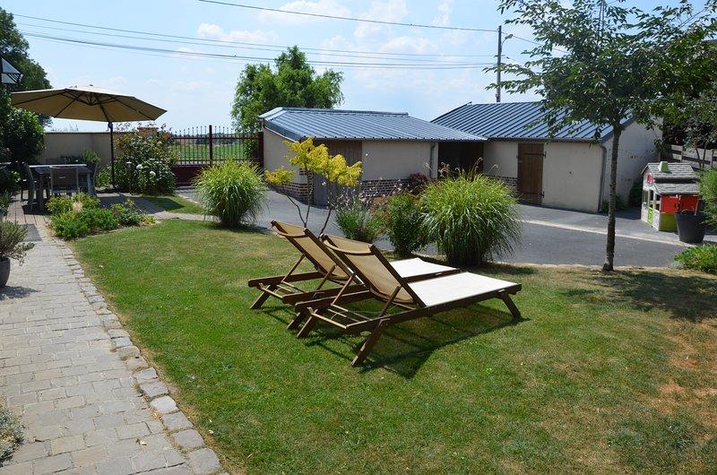Gîte du Frêne, location de vacances à Ribemont