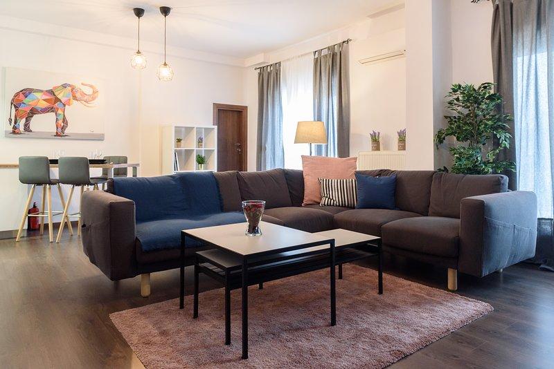 Thessaloniki city center penthouse, vacation rental in Thessaloniki