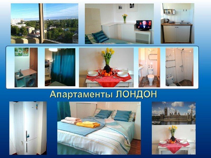 Apartment 'London' is a cozy oasis for two guests, location de vacances à Razmetelevo