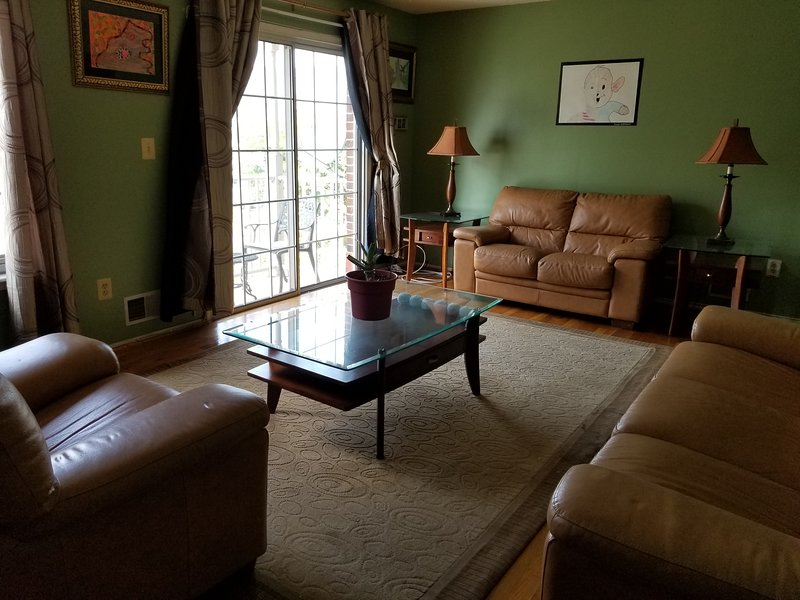 Private Room or Entire Apt (Your choice) - Newark to NYC in 27 Minutes!, vacation rental in Summit