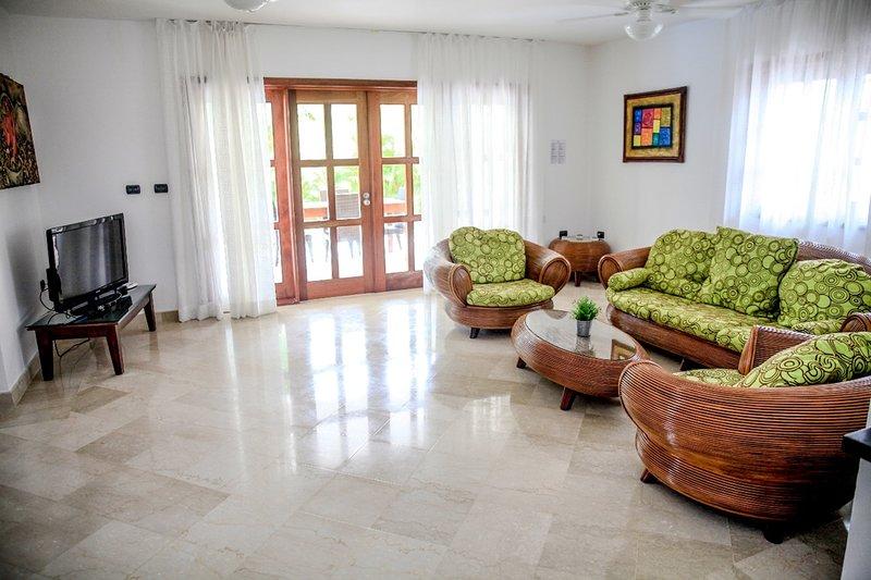 Spacieux salon Villa A