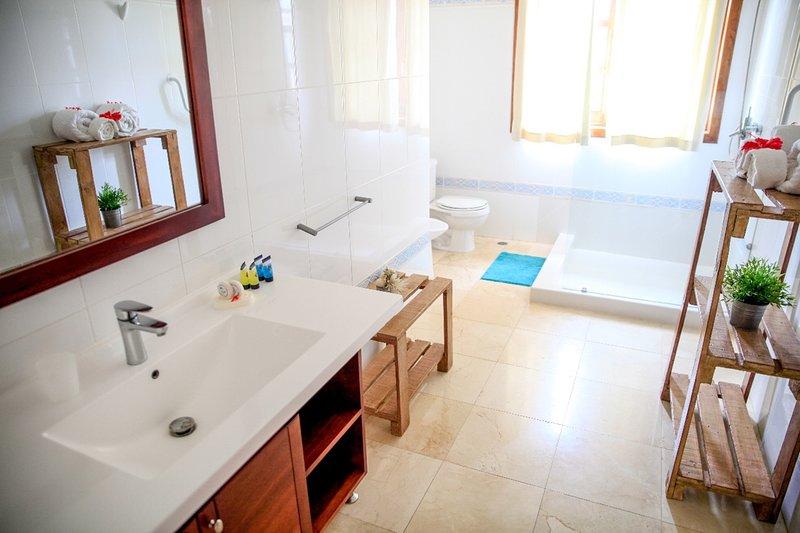 Salle de bain complète - Douche