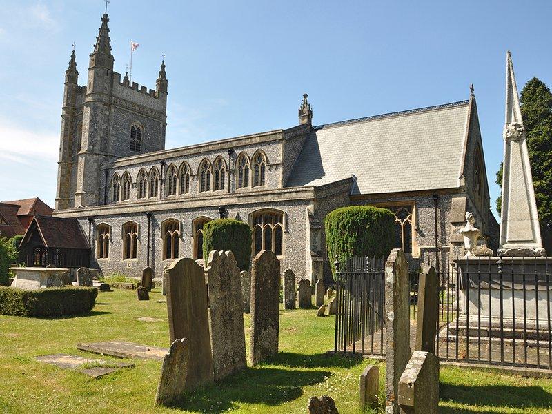 St. Mary's Church dans la vieille ville de Beaconsfield.