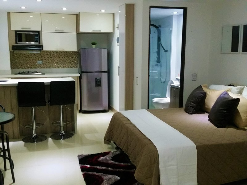 Fully equipped apartment hotel