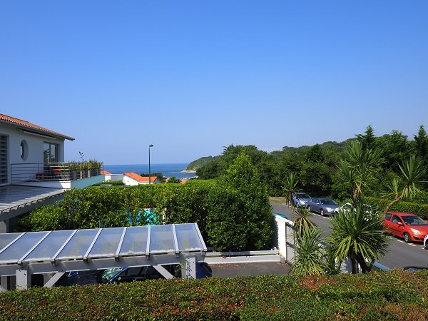 Sea view of the house