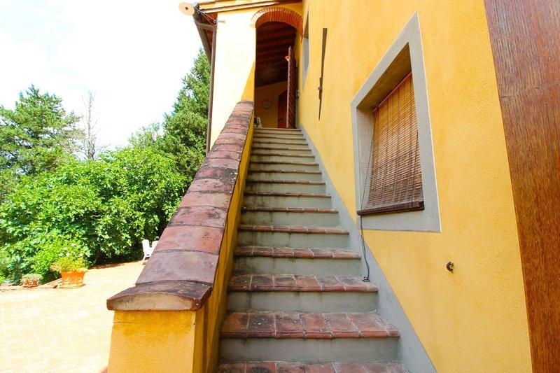 PODERE LE FORNACI - COPPO, location de vacances à Levane