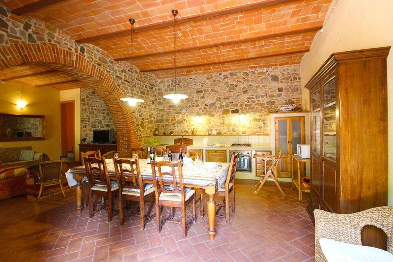 PODERE LE FORNACI - TEGOLA, alquiler de vacaciones en Bucine