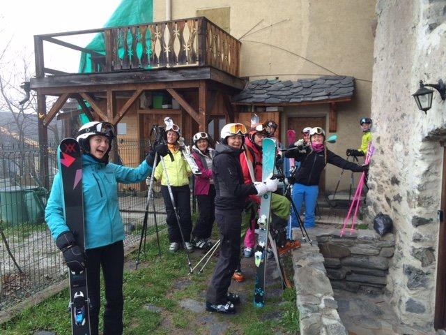 Tannerie Ski party a Pasqua