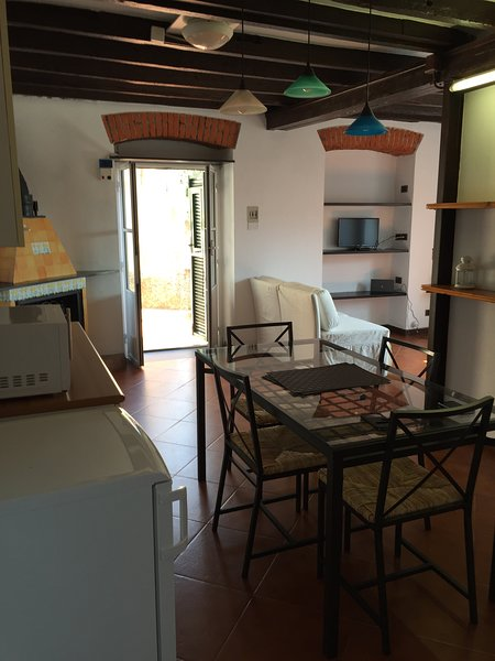 PICASSO FANTASTIC SEA VIEW AND GARDEN, vacation rental in Valbrevenna