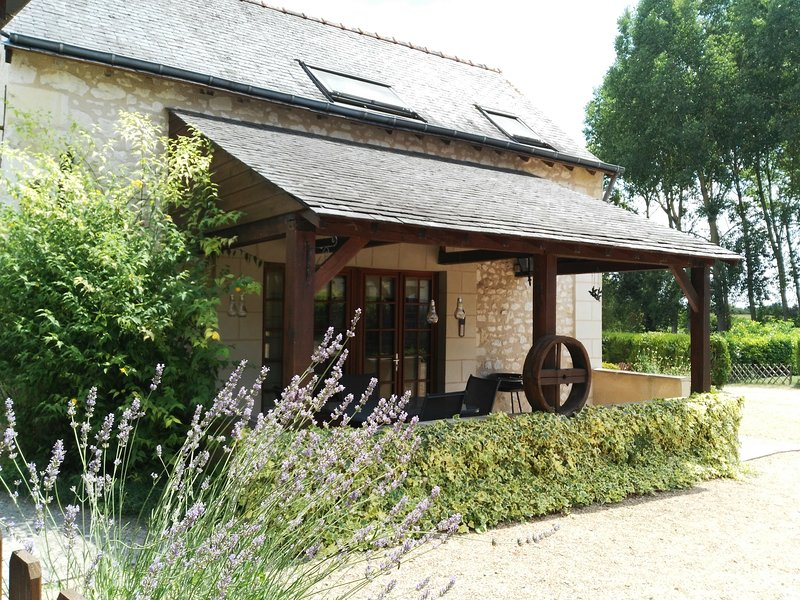Cottage at Le Haut Gué in the heart of the Loire Valley, holiday rental in Continvoir