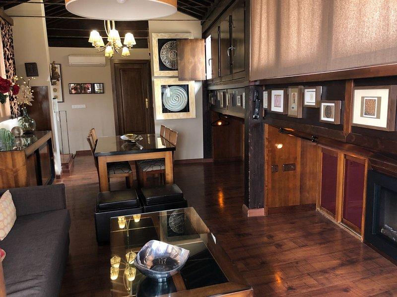 Apartamento Turistico. Espectacular atico en el centro de Granada., holiday rental in Puerto-Lopez