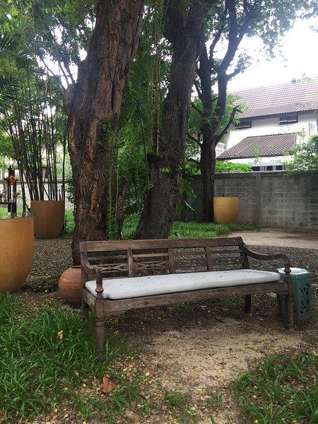 Trascorri momenti di relax in giardino