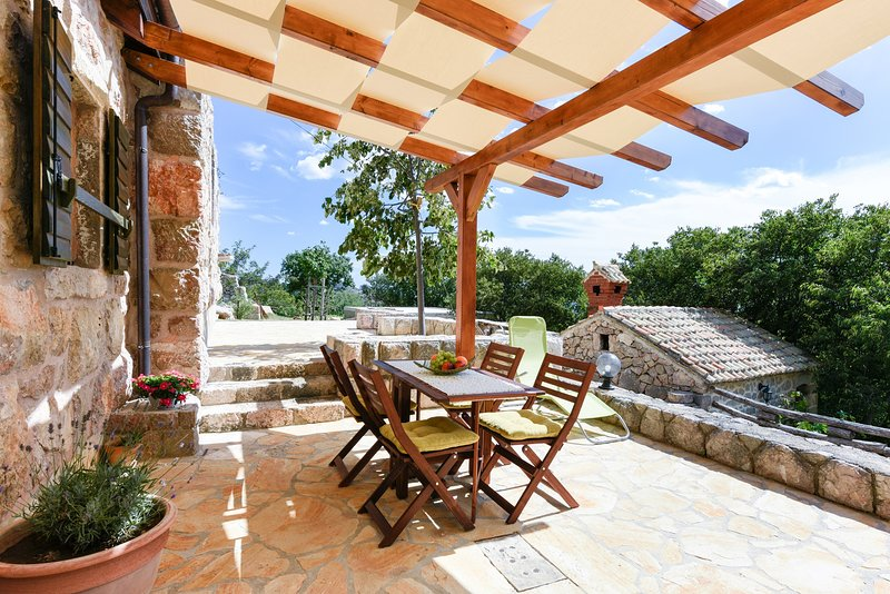 Traditional stone house Bura - Nature Park Velebit, vacation rental in Tribanj